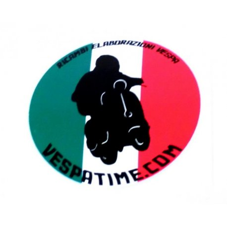 Sticker vespatime racing
