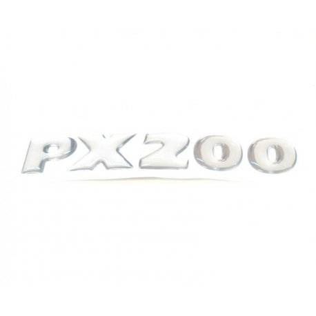 Adhesive emblem for vespa px200 latest series