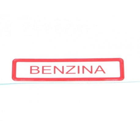 "Sticker ""benzina"" for vespa"