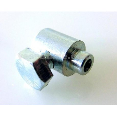 Cable nipple fastening clutch cable