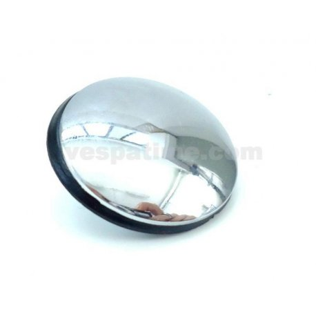 35mm chrome-plated iron blind cover with nut