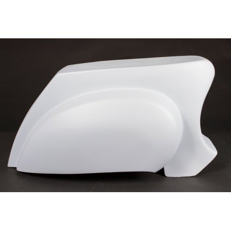 Rear fairing fiberglass for vespa pk with cavities version vespa 50/90/125 primavera/et3