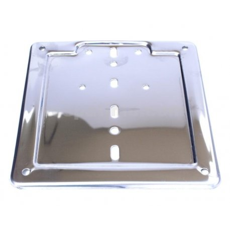 Number plate holder for new registrations dimensions 180mmx180mm