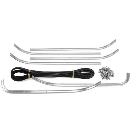 Kit strips set floorboard vespa 125 gt/gtr/ts, 150 sprint/sprint veloce, 180ss, 180/200 rally