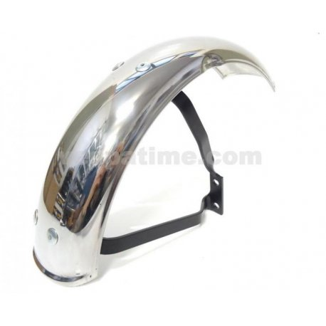 Chromed mudguard Garelli for vespa pk