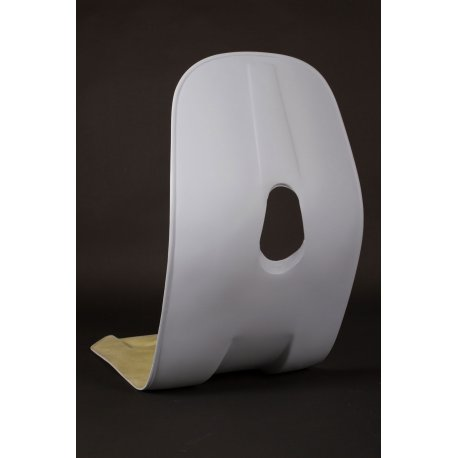 Fibreglass floorboard legshield for vespa 90ss