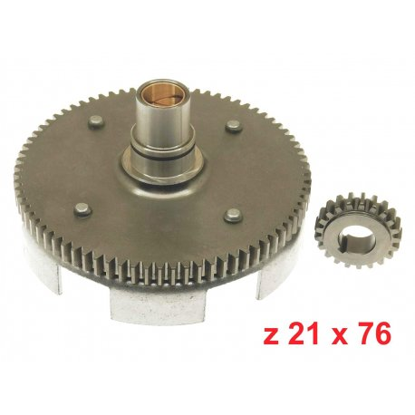 Bell gear ratio primary straight teeth z 21x76