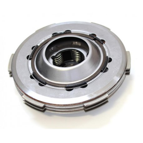 Clutch assembly set with 5-disc set and 6 springs as original for vespa pk50hp, pk 50-125 fl2