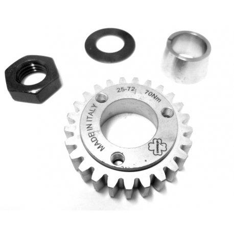25-teeth pinion complete kit primary 24-72 straight teeth