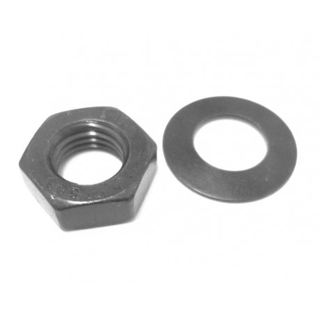 Mounting nut and washer for pinions Crimaz for vespa smallframe