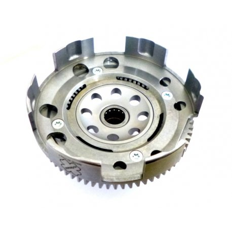 Primary gear ratio bell with 72 straight teeth with primary driven gear plate
