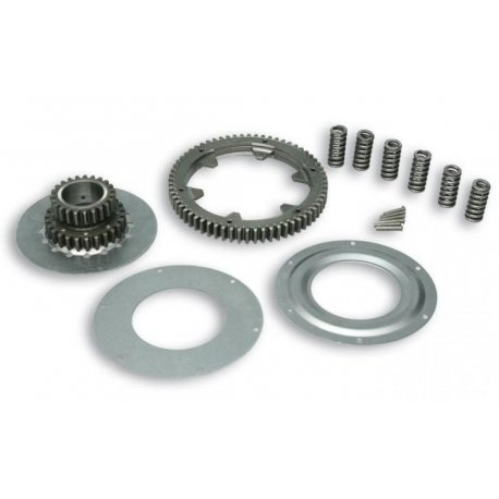 Gear ratio primary increased malossi 23-64 for vespa px/pe 200 until 1997, cosa 200, T5