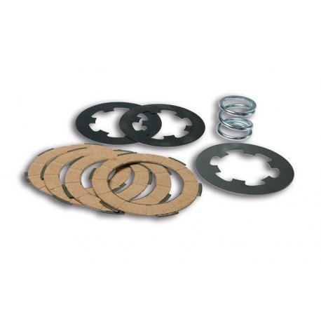Kit clutch plates malossi with 7 discs and reinforced spring for vespa smallframe