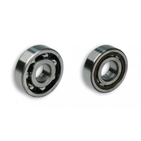 Kit bearings malossi for vespa smallframe (flywheel side and clutch side)