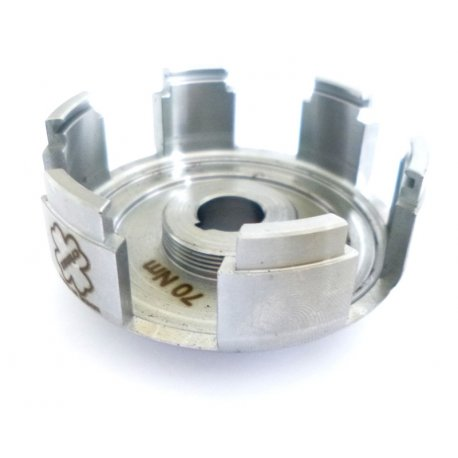 Hub spider clutch entirely machined from solid for single-spring clutches, by crimaz