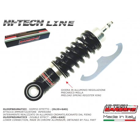 Front shock absorber carbone adjustable