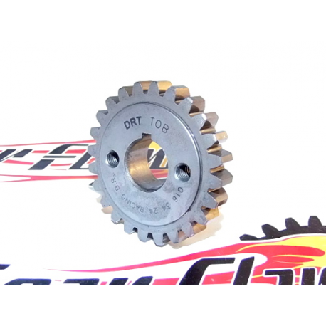 Gear pinion 24 teeth drt for primary Z56 straight teeth