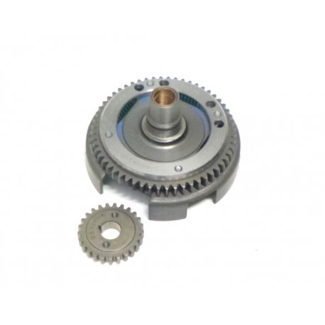 Bell gear ratio primary drt 22-60 straight teeth with processed basket and reinforced primary driven gear