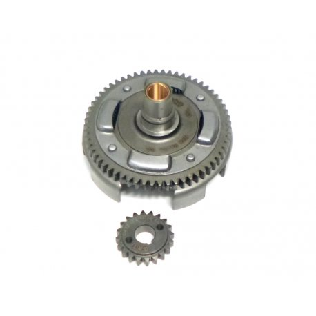 Bell gear ratio primary drt 18-62 straight teeth with processed basket and reinforced primary driven gear