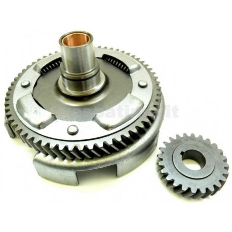 Bell gear ratio primary helicoidal teeth z 24x61 with primary driven gear