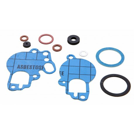 Set of gaskets dell'orto overhauling carburettor for si 20, si 24. Aramid fiber blue