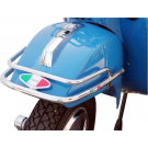 Bumper for mudguard chrome-plated vespa px, pe, px arcobaleno
