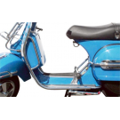 Front protection shield chromed for vespa px