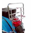 Chrome-plated rear luggage carrier vespa px/pe/arcobaleno all series
