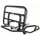 Chromed rear luggage carrier vespa