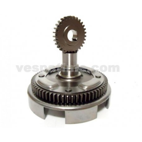 Bell gear ratio primary newfren straight teeth with primary driven gear for vespa 50-125 primavera/et3, pk/ets z: 24-72