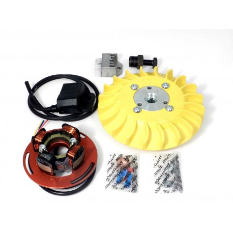 Parmakit ignition for vespa px all, 1.5-kg flywheel