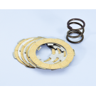 Set clutch plates carbon steel polini vespa smallframe