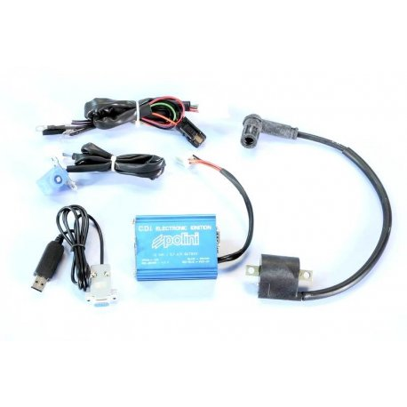 Advance check tool for ignition with comparator