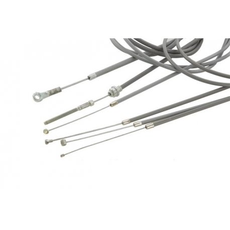 Kit transmission set cables plus sheating, for Vespa PK 50-125/XL RUSH/ETS