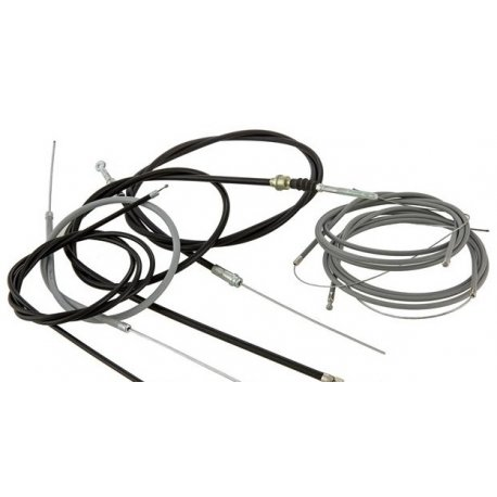 Kit transmission set cables plus sheating, for vespa pk 50-125 XL2/FL/HP/N