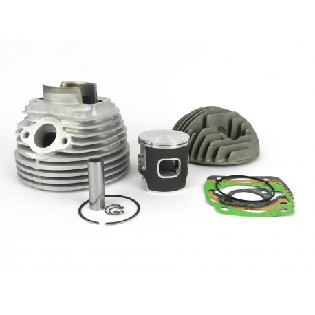 Cylinder parmakit ecv with aluminium head for vespa 125 primavera/et3