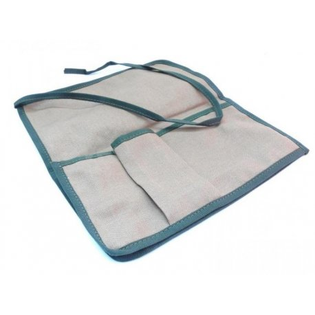 Green fabric tools bag