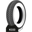 Tyre 3.50-10 Kenda 51J white band