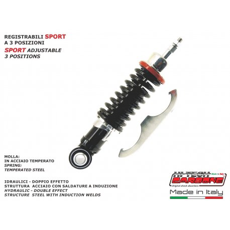 Front shock absorber made in italy by carbone