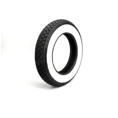 Tyre continental 3.50-10 white band - WW K62 59J
