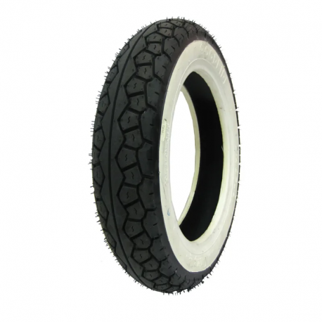 Tyre 3.50-8 white band, series eco