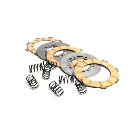 Set clutch plates and springs surflex vespa gs 150 vs5t→00122089, gs 160, 180 ss, 180/200 rally, px/pe 200, t5