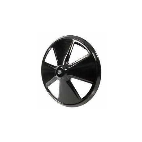 Cover black painted 10-inch wheel