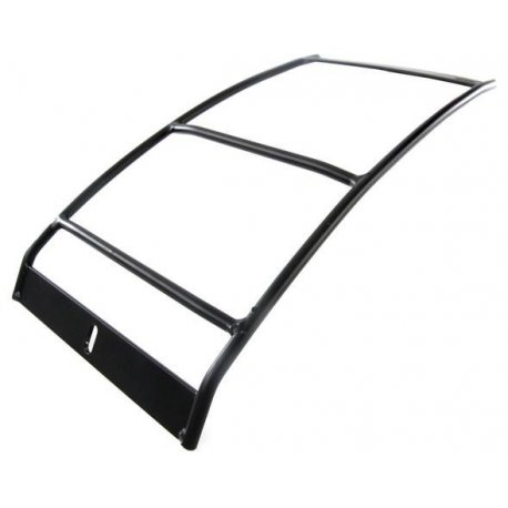 Rear luggage carrier black