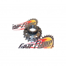 Pinion engine gear DRT for clutch 8 springs Z23 on primary Z64 POLINI - Vespa PX-PE-MY-COSA
