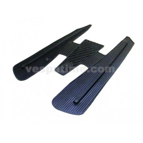 Rubber mat black for vespa 125 primavera /et3