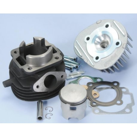 Cylinder polini for vespa 50, pk, xl diameter 47, cc 75 racing, 6 transfer ports, with discharge booster