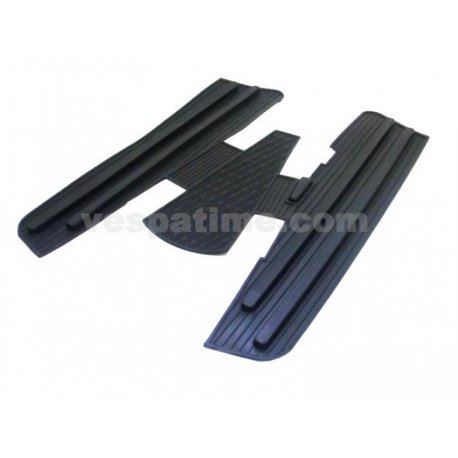 Rubber mat black adaptable