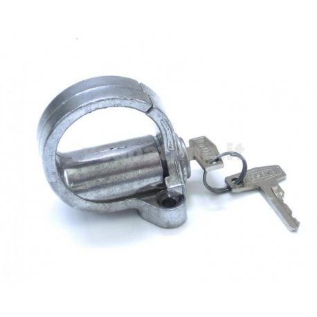 Luggage hook with lock