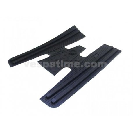 Rubber mat black for vespa px all series